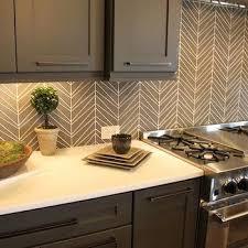 kitchen tile backsplash design geometric tile backsplash design ideas