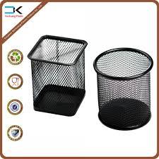 wholesale square round shape iron pen holder alibaba com