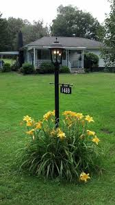 light post with address sign lighting driveway l post inspiring lights light heat ls top