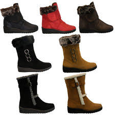 womens thermal boots uk womens ski boots ebay