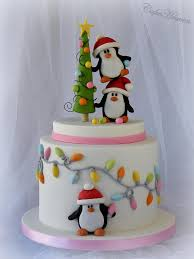 Christmas Cake Decorations Pinterest by Tis The Season To Be Jolly Cake By Marlene Cakeheaven