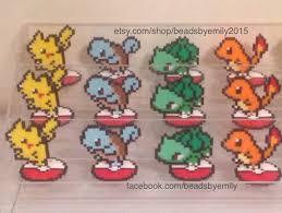 pokemon go pixel art decoration for shelf desk game room