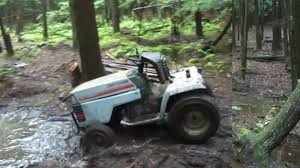 mudding cars mudding on a craftsman lawn mower video dailymotion