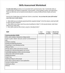 skills assessment 7 download free documents in pdf word excel