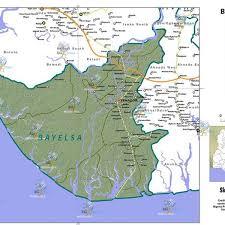 africa map elevation bayelsa state map elevation image background maps