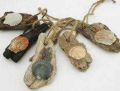 driftwood and shell house accents ceiling fan pulls or
