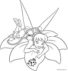 coloring pages of tinkerbell and friends coloring pages