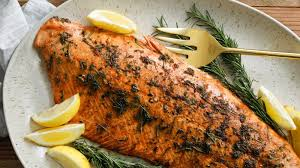 salmon with lemon herb marinade recipe nyt cooking