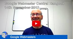 google webmaster central hangout archives deepcrawl