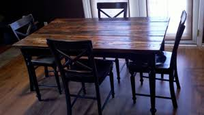 distressed wood table and chairs attractive reclaimed wood dining table and chairs handcrafted