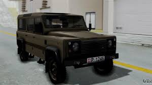 defender land rover 2016 land rover defender vojno vozilo for gta san andreas