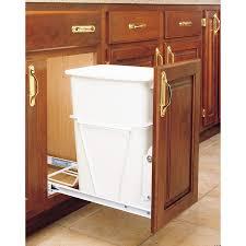birch wood driftwood amesbury door kitchen cabinet trash can