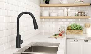 Kitchen Faucet Black Finish Matte Black Finish Symmons Industries Inc