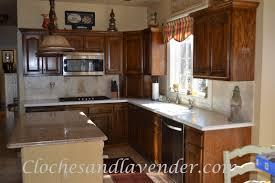 kitchen update on a budget cloches u0026 lavender