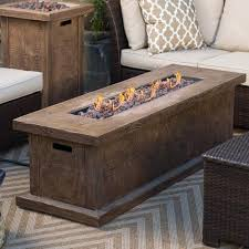 Ember Table Buy Red Ember Glacier Stone 60 In Gas Fire Pit Table With Free