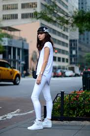 all white casual sup lovely by