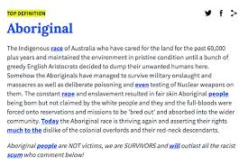 What Is A Meme Urban Dictionary - urban dictionary has changed its racist definition of aboriginal