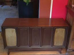 Antique Record Player Cabinet Vintage Record Player Consoles