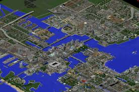City Maps For Minecraft Pe Greenfield U2013 The Most Realistic Modern City In Minecraft