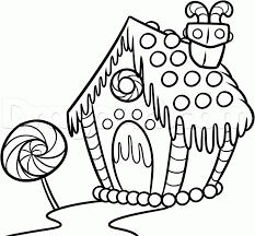 gingerbread house 8 coloring pages education gingerbread house