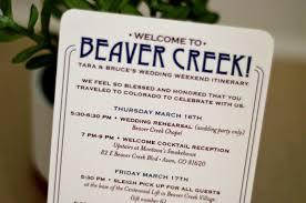 destination wedding itinerary beaver creek colorado rocky mountain wedding weekend itinerary