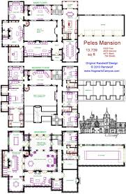 chic house plans small castle for castle house pla 736x1130