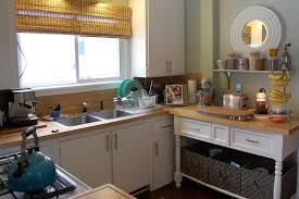 free standing kitchen counter easy add counter space from real kitchens kitchn