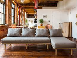 karlstad sofa and chaise lounge mix ikea and warby parker and you get u2026 on demand furniture wired