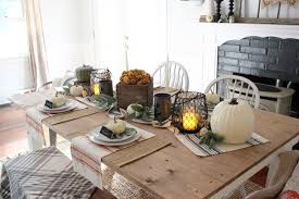 Living Room Table Decor by Rustic Halloween Dining Table Decor Lauren Mcbride