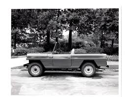 commando jeepster unsual prototype photos on ebay ewillys