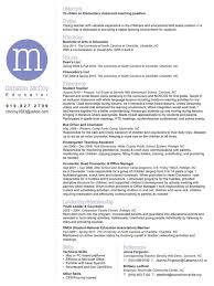 Kindergarten Teacher Resume Example by 68 Best Resume Madness Images On Pinterest Resume Ideas Resume
