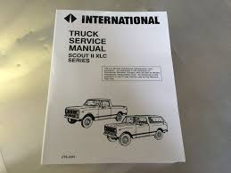 service manuals anything scout