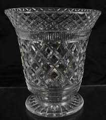 Cut Crystal Vases Antique Antique Richardson Flared Cut Crystal Vase For The Home Pinterest