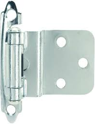 what is the inset of a cabinet hinge inset cabinet hinge chrome