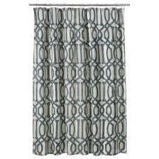 Black And White Paisley Shower Curtain - threshold paisley shower curtain in grey