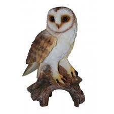 barn owl real ornament by arts ornaments statues