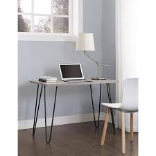 Writing Desk With Chair Mainstays Retro Desk Multiple Colors Walmart Com