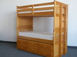 Captains Bunk Beds Captains Trundle Bunk Bed Bottom Part Rolls Out For A 3rd Bed