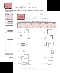 3rd grade spelling worksheets all kids network