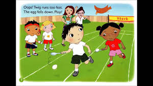 sports day get ready don u0027t stop english nursery rhymes animated
