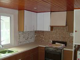 Before And After Painted Kitchen Cabinets With Further Details