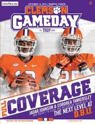 home depot black friday ad 2016 29678 2016 south carolina football gameday program by clemson tigers issuu