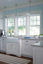 Kitchen Sink Frame by Three Windows Over Kitchen Sink Design Ideas