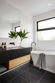 bathroom tile wall and floor tiles black and white bathroom wall