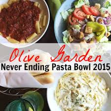 Olive Garden Never Ending Pasta Bowl Is Back - olive garden never ending pasta bowl is back for 2015