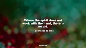 where the spirit does not work with the quotes by