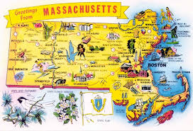 Massachusetts natural attractions images Massachusetts tourism map montana map jpg