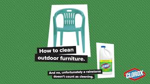 Cleaning Outdoor Furniture by Clorox How To Clean Outdoor Furniture Youtube