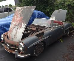 1960 mercedes for sale 1960 mercedes 190sl project bring a trailer