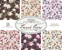 what is floral pattern in french watercolour flower clip art collection hand painted graphics